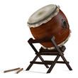 Leinwanddruck Bild - Taiko drums. Traditional Japanese instrument