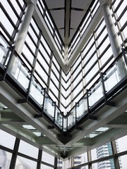 Modern office building interior architecture