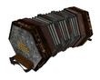 concertina isolated - 81499693