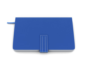 Blue notebook for notes