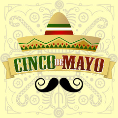 Cinco de Mayo Moustache