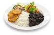 cuban cuisine, arroz con frijoles negros - 81503859