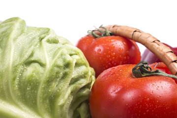 terrific fresh tasty garden vegetables