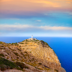 Majorca Formentor Cape Lighthouse in Mallorca