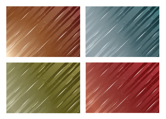 Vector illustration with abstract backgrounds.