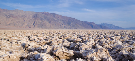 Devil's Golf Course in Death Valley