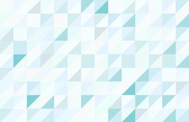 Blue colored triangular pattern background