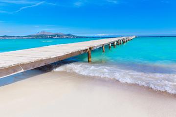 Majorca Platja de Muro beach Alcudia bay Mallorca