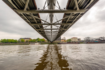 footbridge over the river