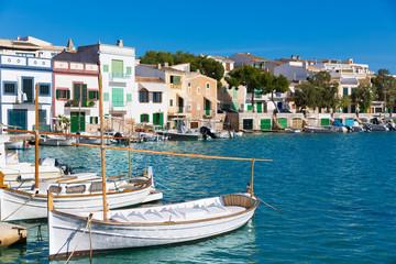 Majorca Porto Colom Felanitx port in mallorca