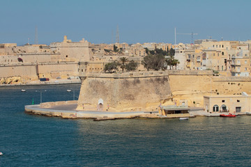Fortified city, Fort Saint Michael. Valletta, Malta