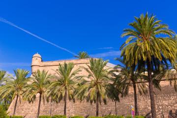 Majorca Es Baluard facade in Palma de Mallorca