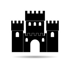 Castle icon - Illustration