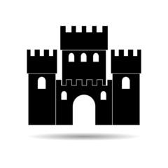 Castle icon - Illustration