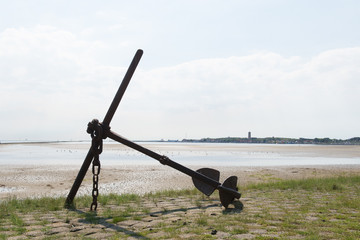 Anchor at the coast