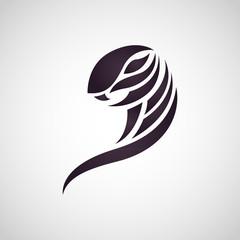 cobra snake logo vector