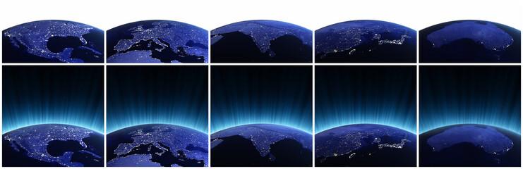 Planet earth set