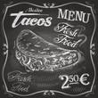 burritos, tacos vector logo design template.  fast food or menu