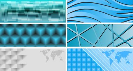 Web banner backgrounds