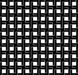 Black and white geometric seamless pattern interlace style.