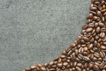 coffee beans chalk