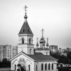 Rostov- on-Don. St. Iver convent. Church of the Iberian Icon