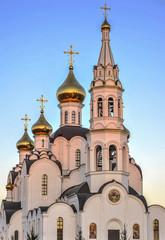 Pyatiprestolny Trinity Church in Iver convent in Rostov