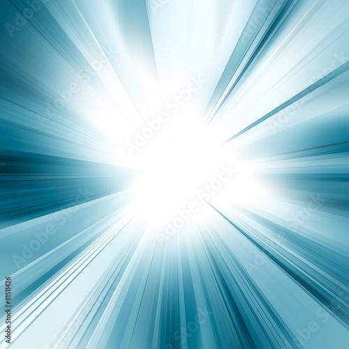 Abstract blue concept - 81511426
