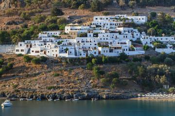 Lindos village, Greece