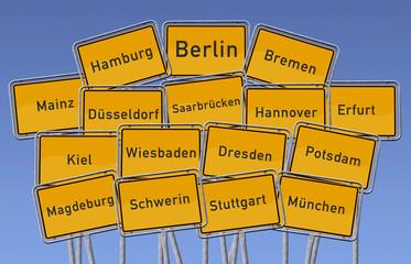 Deutschlands Landeshauptstädte