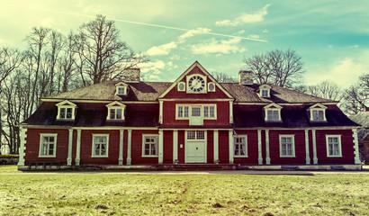 Ungurmuiža manor house is a famous civil Latvian museum