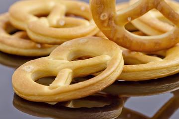 little crackers as pretzels
