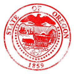 Oregon Seal Rubber Stamp