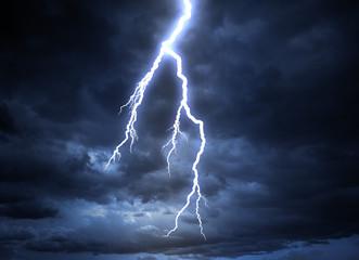 Lightning strike