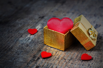 Wedding heart-shaped gift
