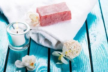 Spa Treatment. Aleppo soap.
