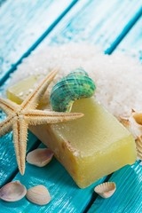 Bar Of Soap. Soap with natural ingredients