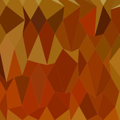 Pastel Orioles Orange Abstract Low Polygon Background