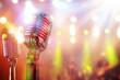 Retro microphone - 81516200