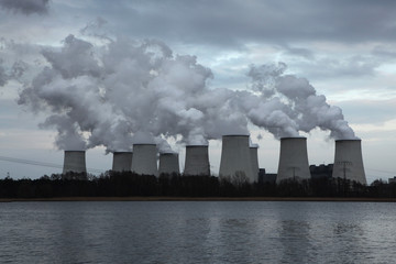 Janschwalde Power Station near Cottbus, Germany.
