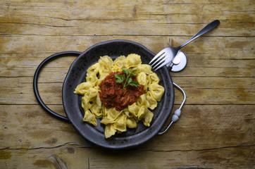Tortellini Cucina italiana ಇಟ್ಯಾಲಿಯನ್ ಪಾಕಪದ್ಧತಿ อาหารอิตาลี