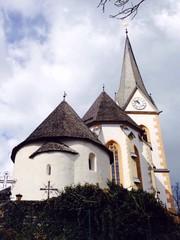 historical church in klagenfurt austria