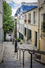 Steep Steps in Paris