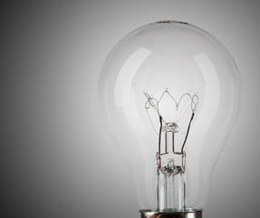 Detail of light bulb