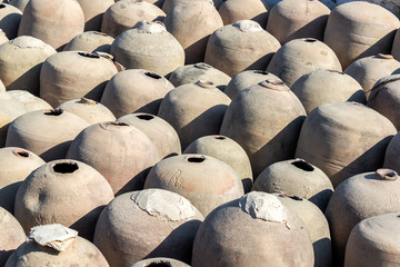 Amphoras for Pisco Production