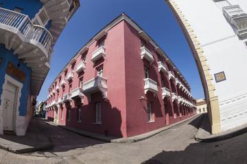Esquina en Cartagena de Indias