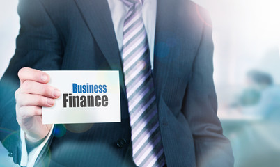 Business Finance Approval Concept