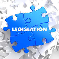 Legislation on Blue Puzzle.