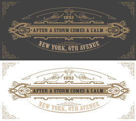 Invitation card  template. Vector vintage background. with flour