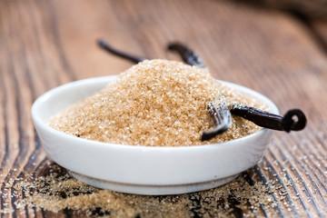 Heap of Brown Vanilla Sugar